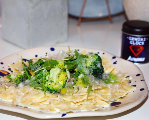 Gewürz für Brocolli Nudeln Rezept