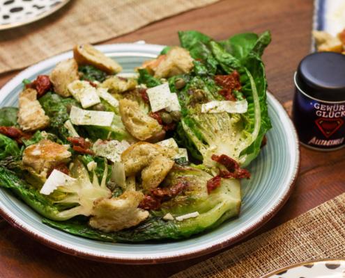 Gegrillter Salat rezept