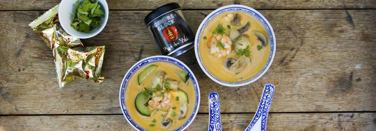 Tom Kha Gung-Suppe rezept