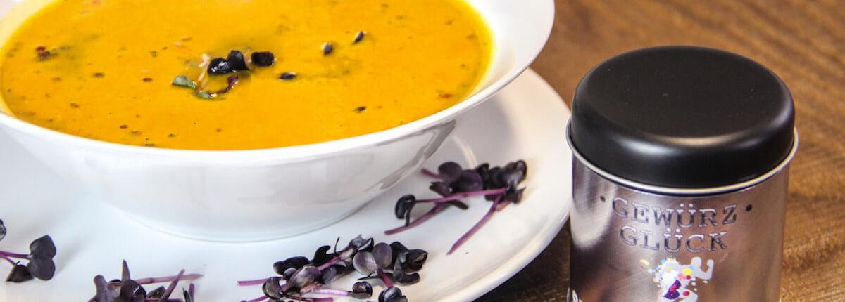 kürbis ingwer suppe rezept