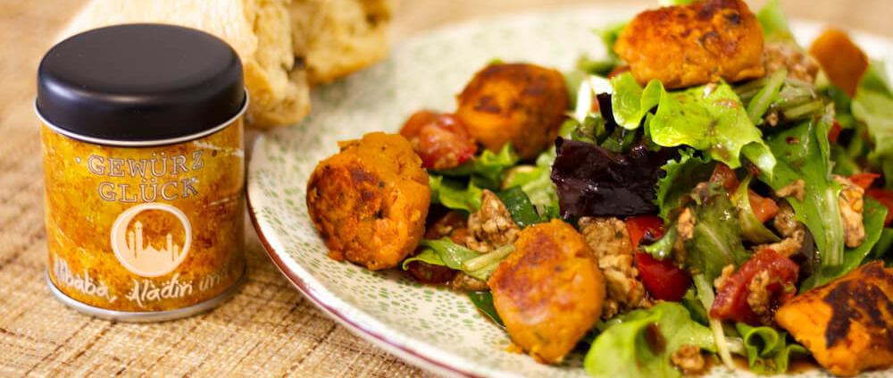 Süßkartoffel Falafel rezept